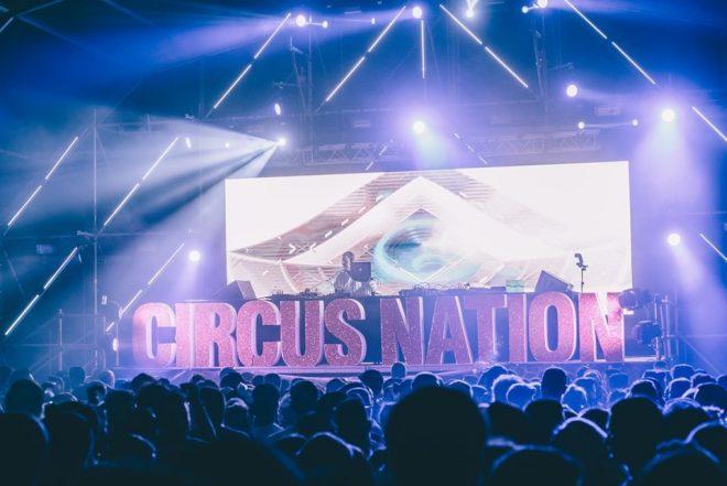 Granada vuelve a respirar techno en la 14º edición de Circus Nation