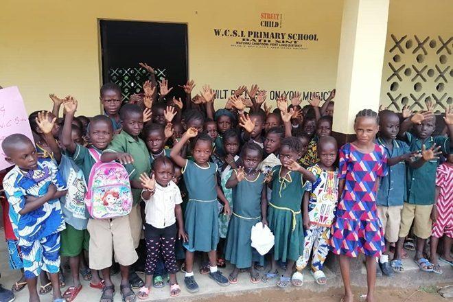 El sello  solidario 'Lost on You' abre su primera escuela en Sierra Leona