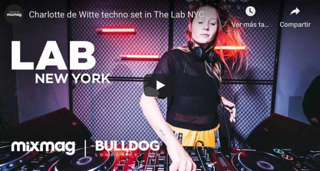 Charlotte de Witte en the Lab NYC
