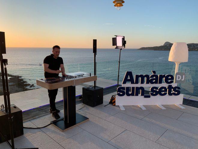 Disfruta en nuestro facebook de la sesión de D-Formation y la puesta de sol desde Amàre Hotels en Ibiza
