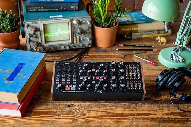 Moog Music tiene un nuevo sintetizador llamado Subharmonicon.