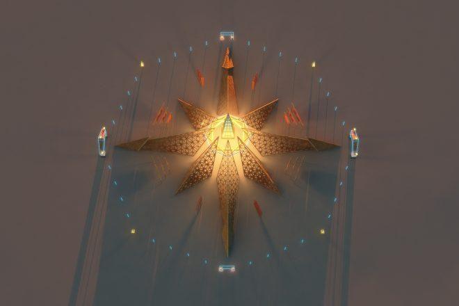 Burning Man 2020 contará con el templo 'Empyrean'