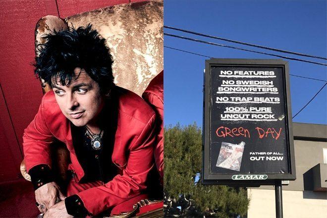 """Green Day """"trolea"""" al trap con un anuncio embadurnado de cocaína"""