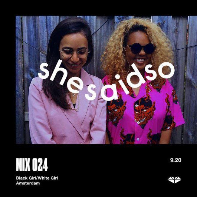 BLACK GIRL / WHITE GIRL protagonistas de la serie SSSO Mix de septiembre.