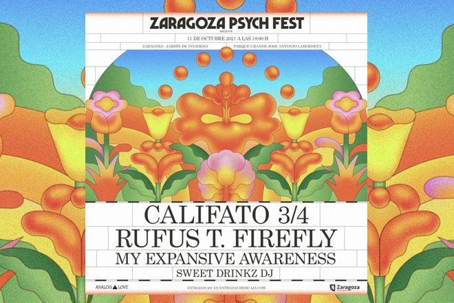 Zaragoza Psych Fest vuelve por todo lo alto este próximo 11 de Octubre