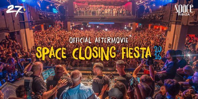 """Space Ibiza ha publicado el aftermovie de su última """"closing fiesta"""""""