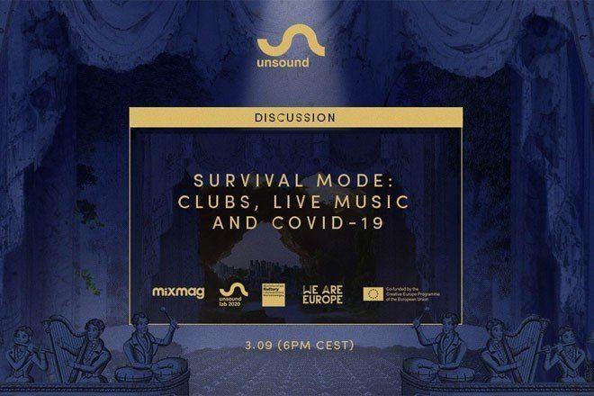 Bajo el título ' Clubs, Live Music and COVID-19', Unsound reúne en un panel a los principales propietarios y promotores de clubes para discutir el futuro de los clubes y sus eventos.